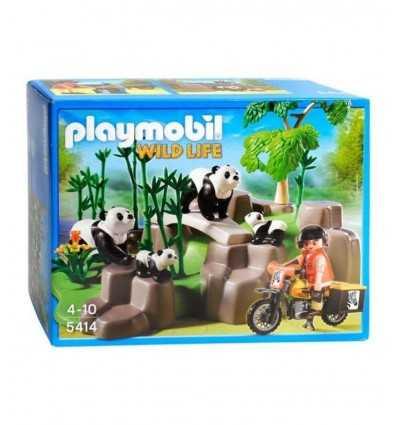 プレイモービル パンダ竹林 5414 5414 Playmobil- Futurartshop.com