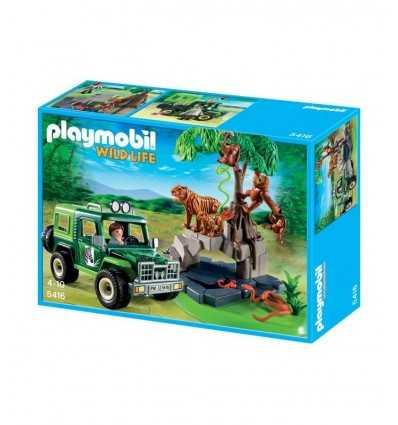 Playmobil 5416 - Fuoristrada con Tigri e Orangotango 5416 Playmobil- Futurartshop.com