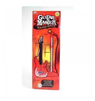 Chitarra elettrica con asta microfono 13732 13732 Grandi giochi-Futurartshop.com