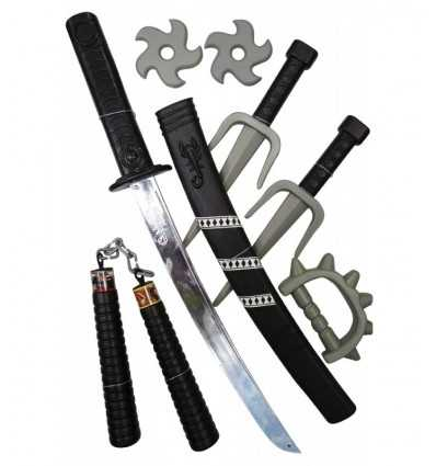 Set de armas Ninja GG16002 Grandi giochi- Futurartshop.com