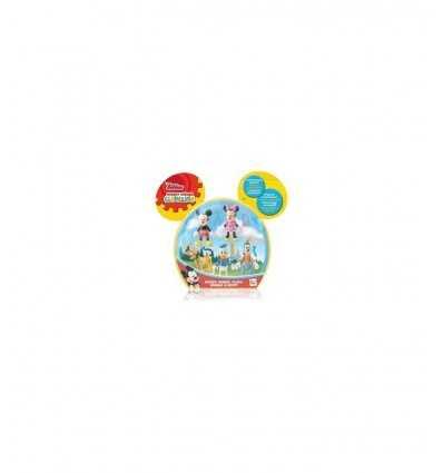 5 personajes de Mickey-Minnie mouse-Pluto-goofy-Donald Duck 181861MM1 IMC Toys- Futurartshop.com