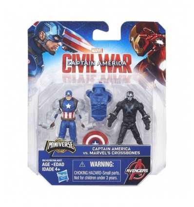 civil war characters captain america versus marvel's crossbones B5768EU40/B6142 Hasbro- Futurartshop.com