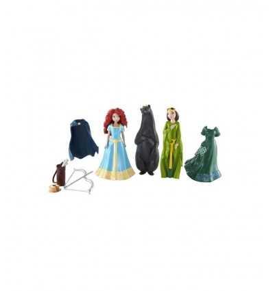 Mini lalka Mattel Merida 2 postacie i akcesoria X 4947 X4947 Mattel- Futurartshop.com