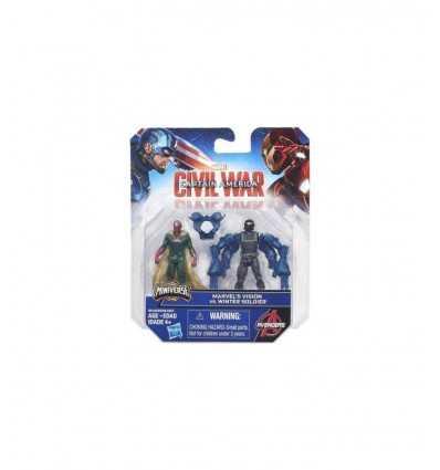 civil war marvel characters's vision versus winter soldier B5768EU40/B6146 Hasbro- Futurartshop.com