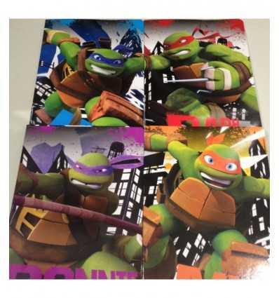 Libro de bolsillo tortugas rigo a TU942000 Giochi Preziosi- Futurartshop.com