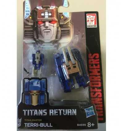 Transformatorer generationer titan masters-terri-bull B4697EU40/B4699 Hasbro- Futurartshop.com