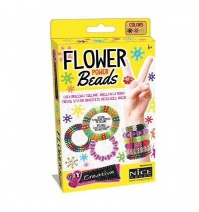 flower power beads mix colori perline 46004 Nice Group-Futurartshop.com