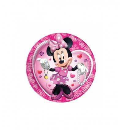 platos de 23 cm 10 minnie Mouse Clubhouse 175596 - Futurartshop.com