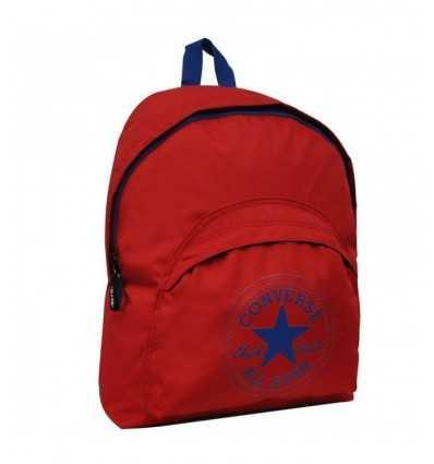 Rote und blaue Converse Rucksack 618 - Futurartshop.com