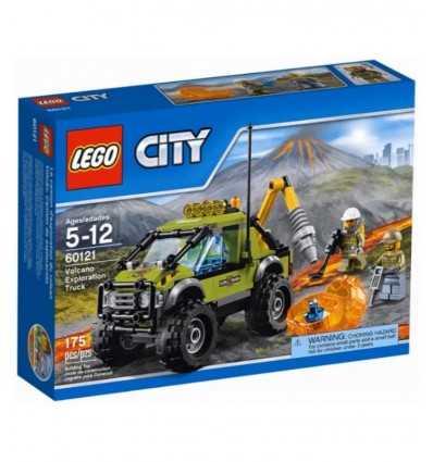 Lastbil vulkaniska prospektering 60121 Lego- Futurartshop.com