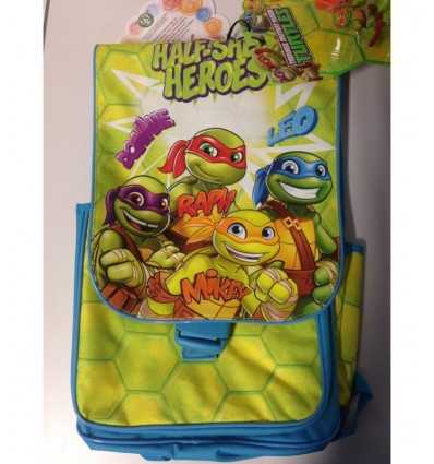 Backpack superstar turtles with blister with characters TU914000 Giochi Preziosi- Futurartshop.com