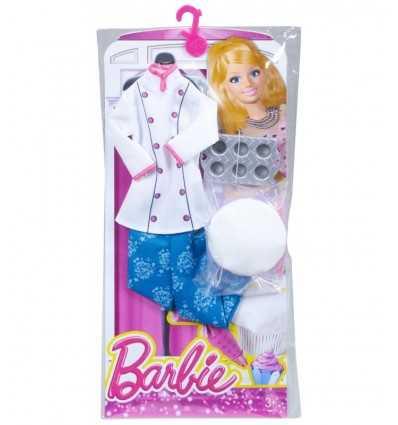 Barbie Kleidung ich Koch eingestellt werden kann CHJ27/CHJ30 Mattel- Futurartshop.com