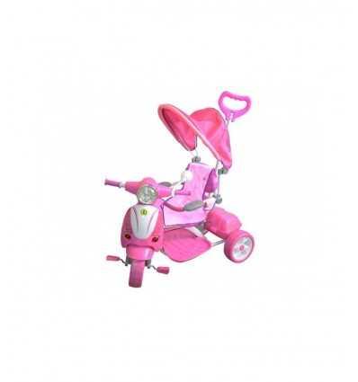 girl tricycle with canopy 0005108 Mazzeo- Futurartshop.com