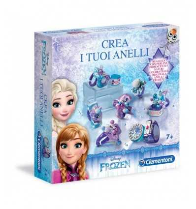 frozen-crea i tuoi anelli 15144 Clementoni-Futurartshop.com