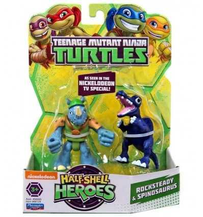 tortugas ninja mutantes personajes rocksteady y spinosaurus TUH00211/96128 Giochi Preziosi- Futurartshop.com