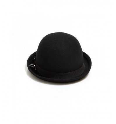 Sombrero de Gyo de sombrero negro A17PMNG00287 0001 Mangano- Futurartshop.com
