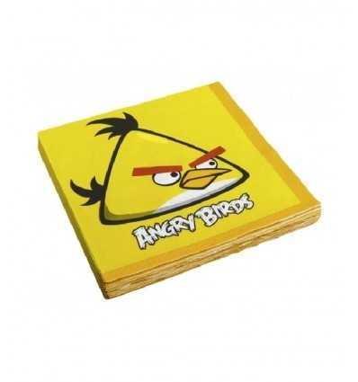 Angry Birds-Set 16 servilletas CMG552363 CMG552363 Como Giochi - Futurartshop.com