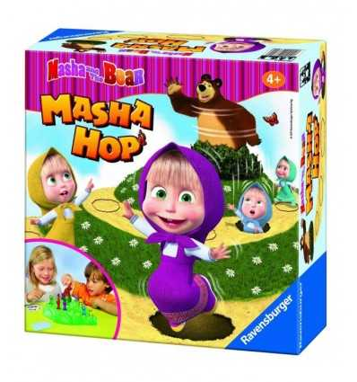 Game Masha and the Bear Masha Hop 212323 Ravensburger- Futurartshop.com
