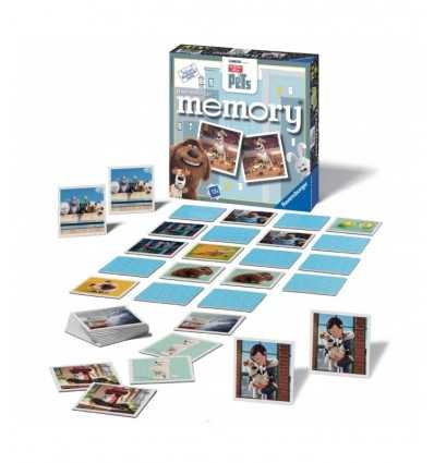 Haustiere-Welpen-Memory mit 72 Karten 212255 Ravensburger- Futurartshop.com