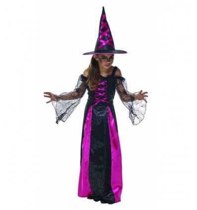 5-6 year old little girl witch costume IT10032-M Rubie's- Futurartshop.com