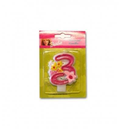Barbie N3 CMG7477 bougies CMG7477 Como Giochi - Futurartshop.com