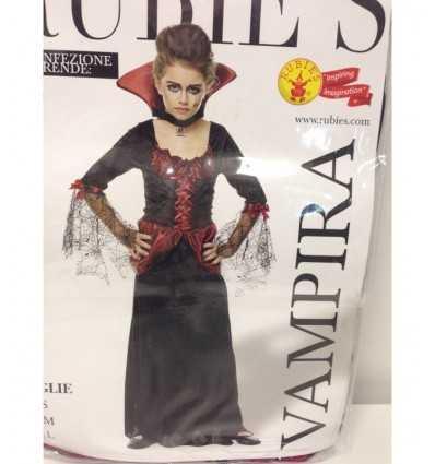 Vampira barn kostym storlek s IT10030-S Rubie's- Futurartshop.com