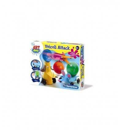 Clementoni 15914 - Art Attack Veicoli Attack 15914 Clementoni-Futurartshop.com