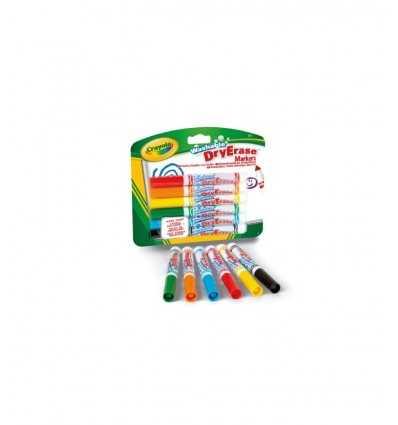 6 pennarelli per lavagna bianca 98-5807 Crayola-Futurartshop.com