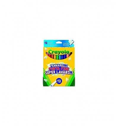12 puntafine de marcadores lavables - Futurartshop.com