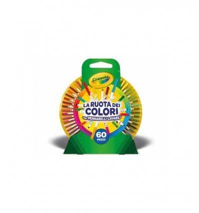 Color wheel with 60 pieces 04-0133 IT Crayola- Futurartshop.com
