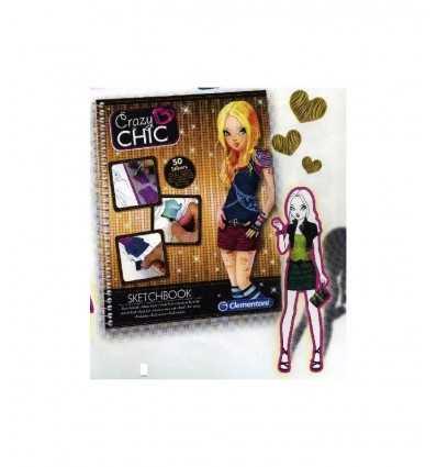 Clementoni Crazy Chic-mode Rock 15919 Sketchbooks 15919 Clementoni- Futurartshop.com