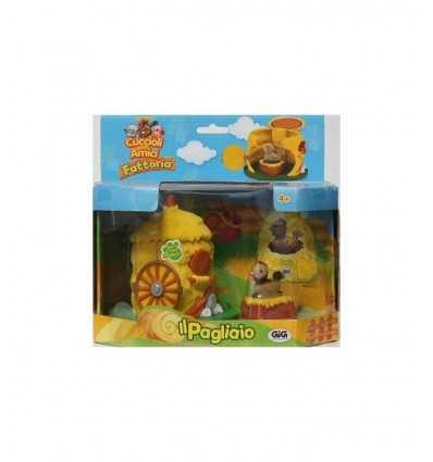 Playset haystack with 1 puppy Gig- Futurartshop.com