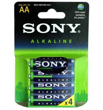 Sony Alkaline 4 stilo AM3E4X AM3E4X Sony- Futurartshop.com