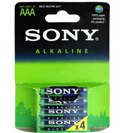 Sony Alkali AAA 4 AM4E4X AM4E4X Sony- Futurartshop.com