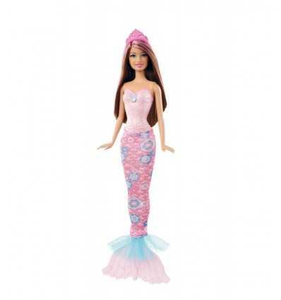 Mattel- X9452 X9454 - Barbie Sirena Castana X9454 Mattel- Futurartshop.com