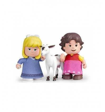 Mini personajes en tubo heidi clara y mascotas cabra 700012779/21230 Famosa- Futurartshop.com