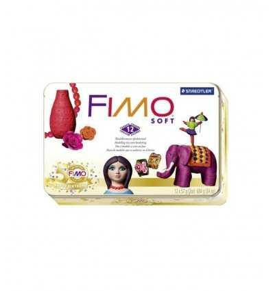 Fimo soft plastilina 12 palmaditas 8023 51P Staedtler- Futurartshop.com