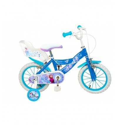 bicicleta (frozen) 16 azul y blanco 56300 - Futurartshop.com