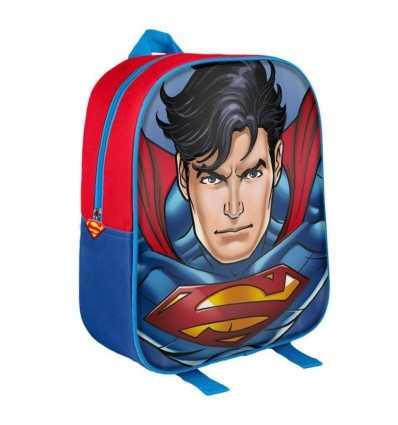 asylum 3d Superman backpack 2100001568 Cerdà- Futurartshop.com