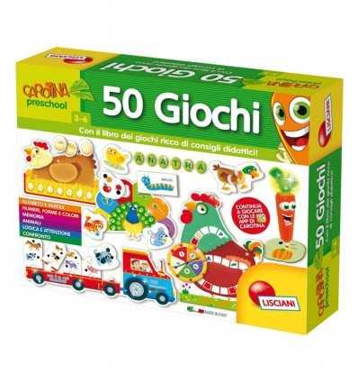 carotina 50 giochi con libro dei giochi didattici 53186 Lisciani-Futurartshop.com