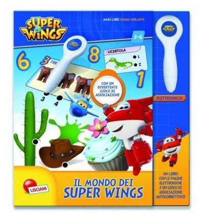 Super vingar stor bok med talande pennan 09092 Lisciani- Futurartshop.com