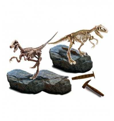 piccolo genio predators 2 in 1 velociraptor e tyrannosaurus rex 56408/P Lisciani-Futurartshop.com