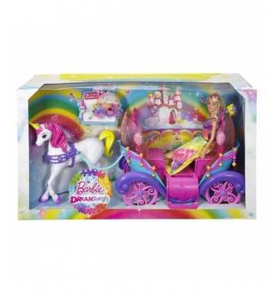 Prinzessin Barbie Arcobaleno in Kutsche DPY38 Mattel- Futurartshop.com
