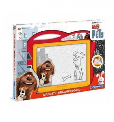 vita da animali lavagna magnetica 15800 Clementoni-Futurartshop.com