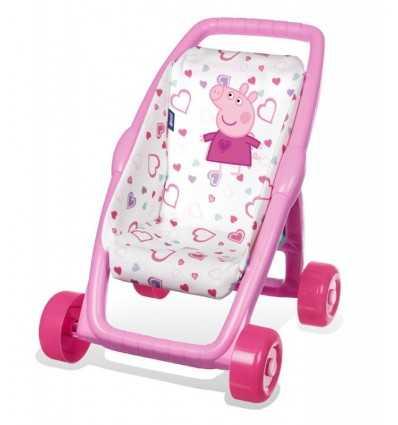 7600513813-Smoby Peppa Pig First Stroller 7600513813 Simba Toys- Futurartshop.com