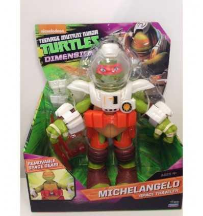 Teenage Mutant ninja turtles michelangelo 30 cm mega espace voyageur TUA04101/91232 Giochi Preziosi- Futurartshop.com