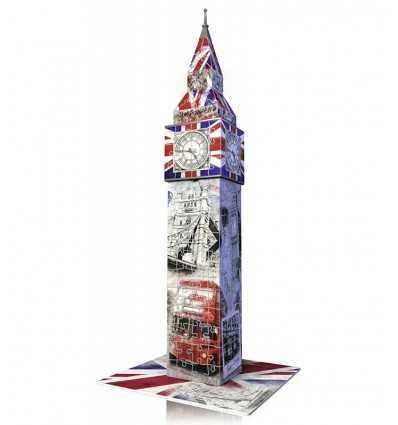 3 D パズル ビッグベン ロンドン版フラグします。 HDGRVN12581 Ravensburger- Futurartshop.com