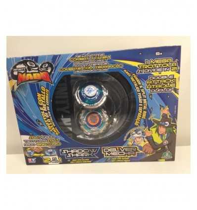 infinity nado trottola split doppia shadow shark e delver mecha NFF01000/W624602 Giochi Preziosi-Futurartshop.com