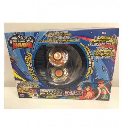 Infinity nado spinner split double battle buddha and blast flame NFF01000/W624601 Giochi Preziosi- Futurartshop.com