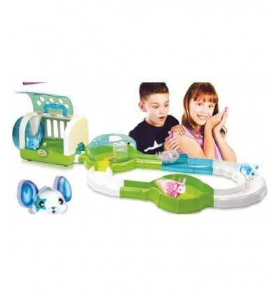 caracteres topolitos casa y pista con 2 ratones LPT09000 Giochi Preziosi- Futurartshop.com